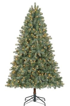 6.5Ft Spanish PE/PVC Quick Set And Perfect Shape Spruce With Led Warm White Clear Lights Tree available from Walmart Canada. Shop and save Christmas online for less at Walmart.ca