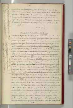 "The manuscript for Robert Louis Stevenson's ""Strange Case of Dr Jekyll and Mr Hyde"" at The British Library."