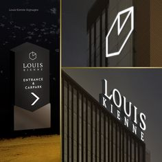 LOUIS KIENNE HOTEL – WAYFINDING SYSTEM – Kaze Lim Hotel Signage, Wayfinding Signage, Environmental Design, Inspiration, Biblical Inspiration, Inhalation, Environmental Crafts