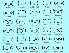 japanese text emoticons - Google Search