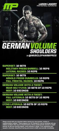 Shoulders Workout | Posted By: NewHowToLoseBellyFat.com