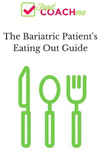 Bariatric Dining Out Guide