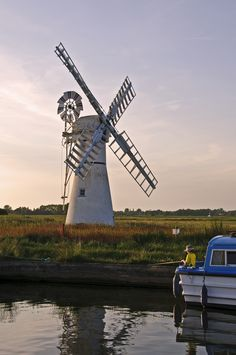 Ranworth and Thurne watermill, Norfolk