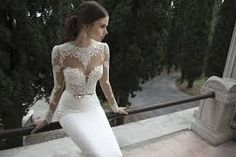 mermaid wedding dresses with sleeves - Google Search