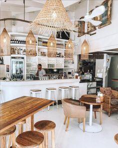 Artwork For Home Decoration Bakery Shop Design, Coffee Shop Interior Design, Coffee Shop Design, Restaurant Interior Design, Cafe Design, Interior Design Inspiration, Café Bar, Starting A Coffee Shop, Casa Cook