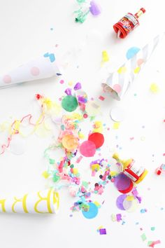 DIY Confetti Blowers