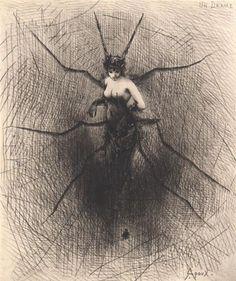 Farfalle eterne: Sul filo della ragnatela