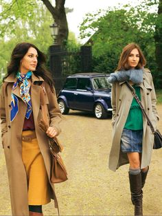 Look like a femme fatale in the classic trenchcoat. The Twill Trenchcoat is nice for spring, and the Gabardine Trenchcoat has a classic fall look. Coat Pattern Sewing, Sewing Coat, Coat Patterns, Sewing Clothes, Diy Clothes, Sewing Patterns, Coats For Women, Jackets For Women, Clothes For Women