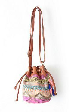 Boho Chic Vintage Pattern Print Canvas Shoulder Bag