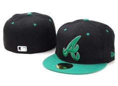 MLB Atlanta Braves Fitted Hat id18 [CAPS M0532] - €16.99 : PAS CHERE CASQUETTES EN FRANCE!