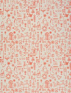 Wallpaper 'Kiddies Town', by Jaqueline Groag