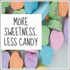 Great article about Valentine's Day candy overload and a call to take the Candy-free School Valentine Pledge