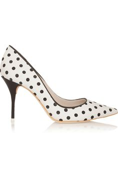 Sophia Webster | Lola polka-dot leather pumps | NET-A-PORTER.COM