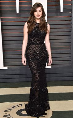Hailee Steinfeld from Vanity Fair Oscars Party 2016: What the Stars Wore | E! Online