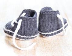 Baby Sneakers / Knitting Pattern Baby Instructions in English