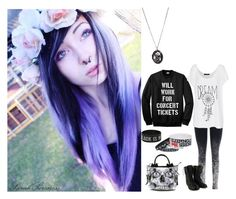 """""""Back To School"""" by black-veil-queen ❤ liked on Polyvore featuring Fame on You and Iron Fist"""