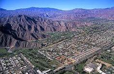 Palm Springs, aerial view - California, USA