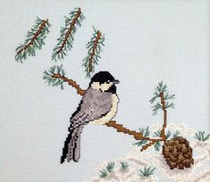Starwood Quilter: Chickadee Counted Cross Stitch