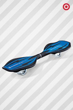 Give kids the gift of tricks, twists and turns with the Razor Ripstik Ripster. Made from a high-tech polymer, it can handle all the falls and scrapes it takes to master those rad moves.
