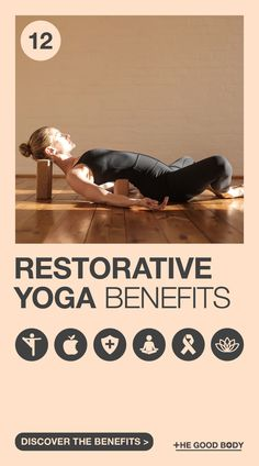 Discover the healing powers of yoga. Restorative yoga, which is also growing in popularity, takes the relaxation element of regular practice to the next level. Relieve Sinus Pressure, How To Relieve Stress, Meditation Benefits, Yoga Benefits, Physical Stress, Positive Body Image, Cool Yoga Poses, Restorative Yoga