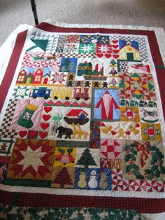 A beautiful Christmas Quilt