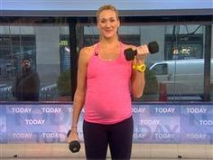 Kerri Walsh Jennings reveals pregnancy workout - Video on TODAY.com