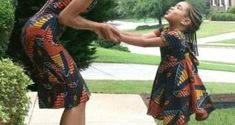 matching african outfits for mother and daughter,mother and child ankara styles,… By Diyanu - African Plus Size Clothing at D'IYANU Ankara Short Gown, Short Gowns, Matching Couple Outfits, Matching Couples, African Wear, African Fashion, African Outfits, Outfits For Teens, Plus Size Outfits