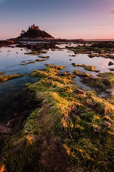 Sunset at St Michael's Mount #2, Marazion, Cornwall, South West England