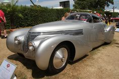 """Dubonnet also commissioned several unique cars to be built, such as this Hispano-Suiza H6C """"Xenia"""". source"""