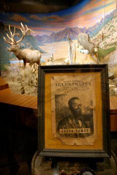 "Jesse James: Wanted. ""Spirit of the Old West"" exhibit Blackhawk Museum. Danville, CA Zippertravel.com Digital Edition"