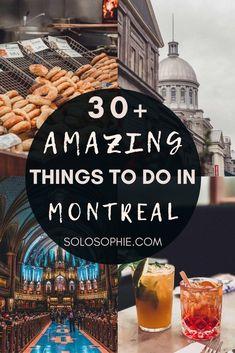 Bucket List Destinations, Holiday Destinations, Travel Destinations, Montreal Quebec, Quebec City, Travel Inspiration, Travel Ideas, Travel Tips, Stuff To Do