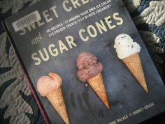 Homemade Trade: Cook the Books 2013 - Ice cream sandwiches from Sweet Cream and Sugar Cones