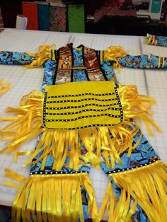 Boys grass dance outfit