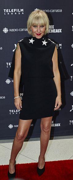Les stars de la télévision québécoise ont foulé le tapis rouge du gala des Gémeaux 2016. Châtelaine y était!