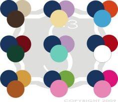 Navy color combinations by eddie
