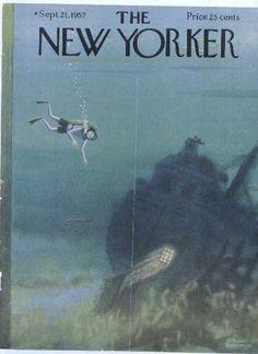September 21, 1957 - Charles Addams