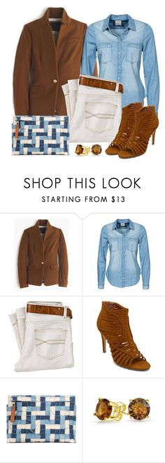 """""""Untitled #1408"""" by gallant81 ❤ liked on Polyvore featuring J.Crew, Vero Moda, Forever 21, Loewe and Bling Jewelry"""