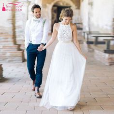 Find More Wedding Dresses Information about White Halter simple Wedding dresses Tulle Beach Bridal Dresses Cheap Sexy Gelinlik Z431,High Quality dress up winter girls,China dresses suit size 16 Suppliers, Cheap dress vintage from Tanya Bridal Store on Aliexpress.com