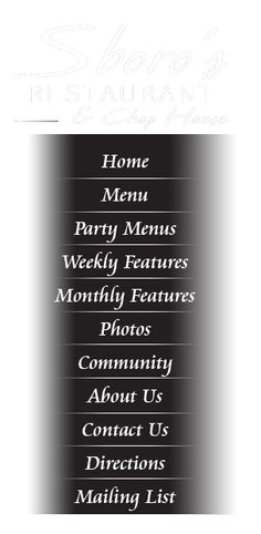Sboros Restaurant & Chop House Watertown NY 13601 | CALL 315-788-1728