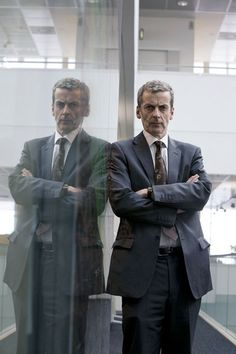Peter Capaldi in The Thick of It