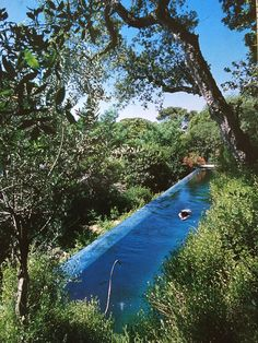 Benefits Of Lap Pools And Their Distinctive Designs This streamlined lap pool is seamlessly integrated into the natural landscape. CountryThis streamlined lap pool is seamlessly integrated into the natural landscape.