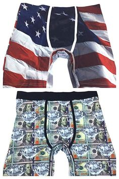 2c2633da5f9a00 Wear Your Life - A PSD Brand - 2 Pack Men s Novelty Boxer Briefs Underwear  Set