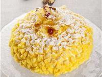 Pan di Spagna: Torta mimosa all'ananas - ITALIA SMART
