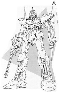"Mamoru Nagano's ZETA GUNDAM proposal rough sketch 01 百式(MSN-00100)の画像 | 魔神機兵団の日記 (http://ameblo.jp/getter-jakiou/image-10820410553-11093650447.html / http://ameblo.jp/getter-jakiou/entry-10820410553.html): This Hyaku-Shiki like a Mobile Suit rough sketch by Mamoru Nagano was proposed as Zeta Gundam for the design competition of M.S. Z Gundam TV series in early 1980's. Reference: A pin of ""Prototype"" Group Board by Arika Yumemiya (https://www.pinterest.com/pin/528117493779934002/). Very…"