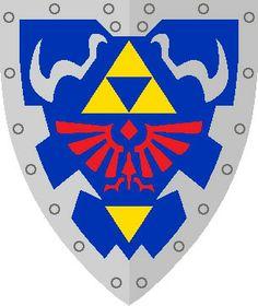 http://www.zeldauniverse.net/forums/zelda-theorizing/133572-the-triforce-is-a-map.html, Escudo Zelda