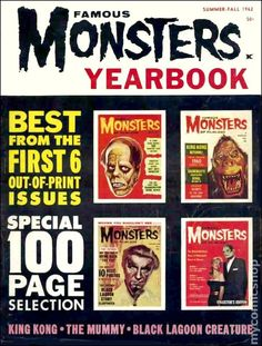 Famous Monsters of Filmland Yearbook/Fearbook #962