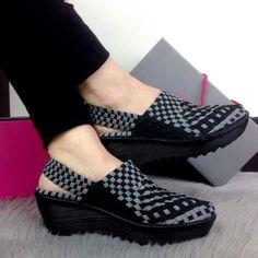 Sepatu Eliza Rihanna Wedges CH7774 Trendy Import (3)