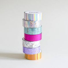 Holo Tape, Paper Poetry holografisches Tape, Holo Papierklebeband, Irisierendes Washi tape, holografisches Klebeband by MightyPaperShop on Etsy Stabilo Pastel Highlighter, Stabilo Boss, Cute Stationary, Cute School Supplies, Craft Supplies, Masking Tape, Washi Tapes, Decorative Tape, Washi Tape