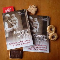 Plus récents livres des Services Vita Hominis! #vitahominis #leclerc #biscuitsleclerc #histoire