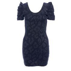 Wild Cat Dress- Fantastic print & cute sleeves!